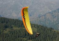 Акро полет с парапланер