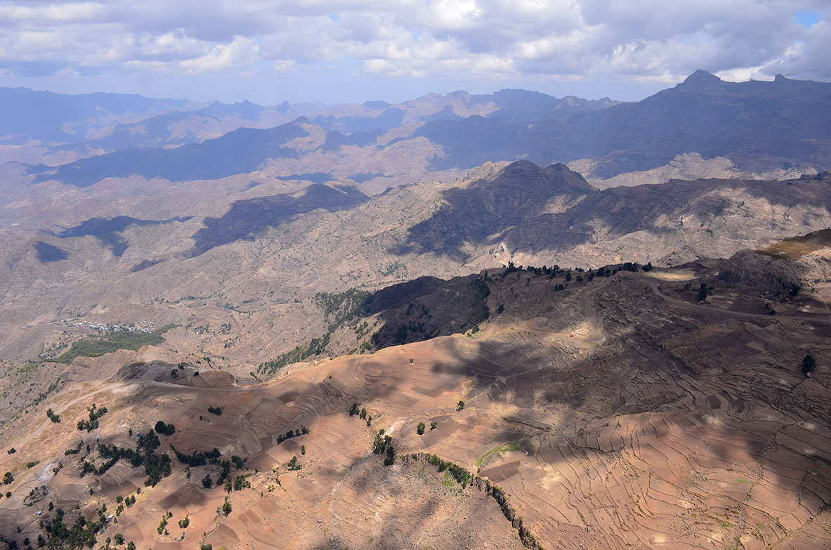 North Ethiopia highlands